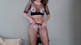 Milf Jess Ryan Ass Shaking everywhere Fishnets