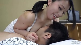 Beautiful Asian masseuse fucked by her kinky client