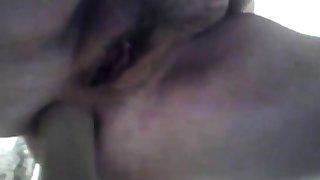 BBW Anal Dildoing