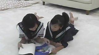 Japanese Teen Schoolgirl Catfight