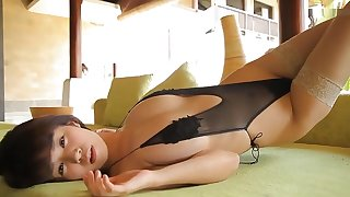 Japanese girl in Breathtaking Solitarily Doll JAV video watch show