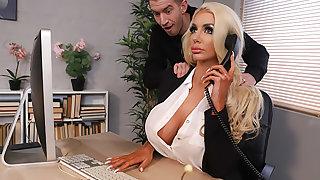 Massaged On The Job