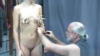 In nature'_s get-up glad rags doll awesome fetish bondage carnal knowledge scenes with daddy