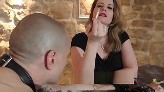 Mistress together with her consequent