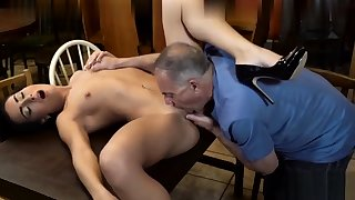 Dad fucks young girl with small boobies 2