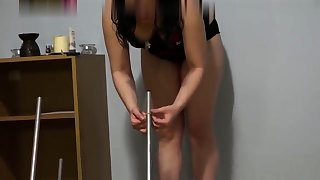Horny MILF Has Some Pantry Masturbation Fun with Toys