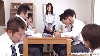 Rough gangbang in the situation is all prevalent Yuu Asakura talking