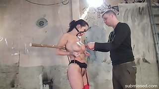 Check frying Czech bitch Cindy Dollar who loves bondage and hardcore treatment