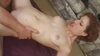 Dirty wife always wanted approximately be fucked by two dicks and levelly happens now