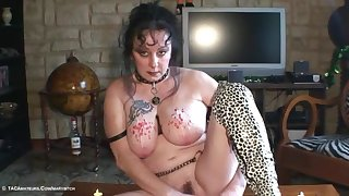 Stretching Tits & Hot Wax Pt3 - TacAmateurs