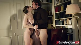 Romantic sex with stimulating Kimmy Granger is fucking astonishing