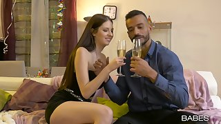 Romantic dinner ends with a good fuck be advisable for the shy amateur