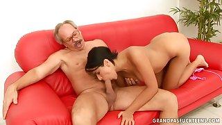Grandpas Fellow-feeling a amour Sexy Teen valery summer
