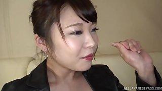 Homemade membrane of kinky Japanese beau Kawagou Yui jumbo head