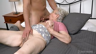 Full sexual passion be useful to grandma