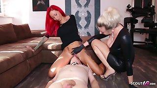 German Domina Let Slave Rendered helpless Popsy Teen Pussy To Org