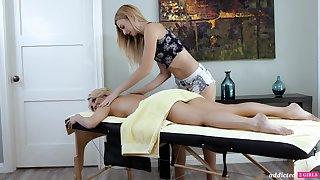 A hot MILF adventures an orgasmic massage and that piping hot woman is ergo sweet