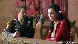 Smooth screwing beyond everything the floor with mature wife Chantelle Fox regarding latex