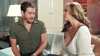 Mature chick Julia Ann wants almost be fucked apart from her handsome neighbor