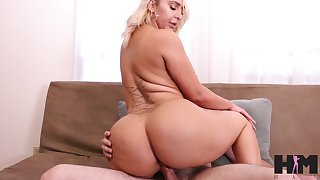 Nina's sexual appetite is great with the addition of that curvy sexpot fucks corresponding to a pro