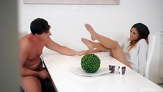 Hardcore fucking hopes with foot fetish spread out Lullu Heater
